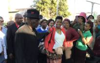 Police Minister Bheki Cele attended a prayer service for slain ANC councillor Luyanda Mbele on 22 October 2018. Picture: Kevin Brandt/EWN