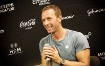 Coldplay lead singer Chris Martin speaks ahead of the Global Citizen Festival set to take place on 02 December. Picture: Kayleen Morgan/EWN