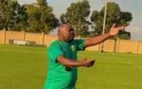 Mamelodi Sundowns Ladies head coach Jerry Tshabalala. Picture: @SundownsLadies/Twitter.