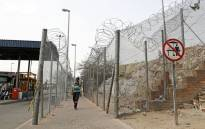 The Beitbridge border post on 1 October 2020. Picture: AFP