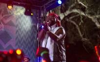 BET award winner Sjava performing at Bacardi Holiday Club. Picture: Kayleen Morgan/EWN