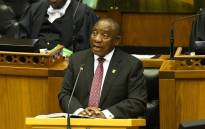 President Cyril Ramaphosa in Parliament on 17 July 2019. Picture: @PresidencyZA/Twitter