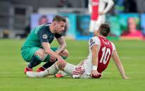 Tottenham's Toby Alderweireld comforts Ajax Amsterdam's Dusan Tadic after their UEFA Champions League semifinal second leg match on 8 May 2019. Picture: @AFCAjax/Twitter