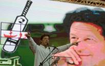 Pakistan politician Imran Khan. Picture: AFP