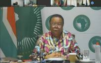 South Africa's Naledi Pandor, chairperson of the Executive Council of the AU, shares opening remarks at the 34th AU Summit on 3 February 2021. Picture: AU.