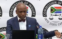 A screengrab of Tshiamo Sedumedi, director at law firm MNS, giving testimony at the state capture inquiry on 29 May 2019. Picture: YouTube