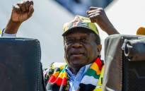 Zimbabwe's President Emmerson Mnangagwa. Picture: AFP.
