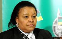 Water & Environmental Affairs Minister Edna Molewa. Picture: ANC