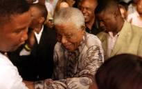 FILE: Former South African president Nelson Mandela. Picture: AFP.