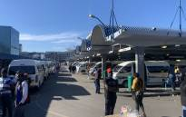 Cape Town's taxi hub in the CBD on 1 June 2020. Picture: Kaylynn Palm/EWN