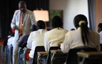 Matric pupils writing exams. Image: EWN.