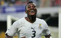 Ghana captain Asamoah Gyan. Picture: Twitter @AFCON_2015.