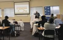 MEC Albert Fritz speaks at the launch of the Milnerton Victim Empowerment Programme (VEP) Forum. Picture: AlbertFritz_DA/Twitter.