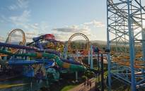 Some of the attractions at the Dreamworld theme park. Picture: Dreamworld/Twitter