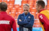 Denmark coach Age Hareide. Picture: @landsholdet/Instagram.