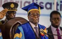 FILE: Robert Mugabe. Picture: AFP