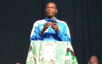 Deputy President of the ANC Youth League Ronald Lamola at Nelson Mandela lecture in Johannesburg on 21 July, 2012. Picture: Jacob Moshokoa/EWN
