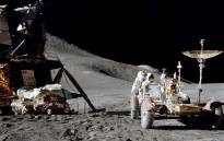 Astronaut James Irwin with the Lunar Rover during the Apollo 15 mission in 1971. Picture: Nasa