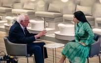 US presidential hopeful Bernie Sanders met rapper Cardi B at a nail salon in Detroit on 29 July 2019. Picture: Instagram/@iamcardib