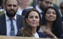 Britain's Catherine, Duchess of Cambridge, sits in the royal box before Tunisia's Ons Jabeur and Spain's Garbine Muguruza play their women's singles third round match on the fifth day of the 2021 Wimbledon Championships on 2 July 2021. Picture: Adrian DENNIS/AFP