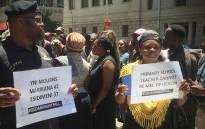 Calls for Gauteng Health MEC Qedani Mahlangu to step down. Picture: Kgothatso Mogale/EWN