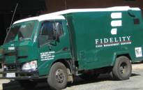 Fidelity cash in transit van. Picture: Eyewitness News