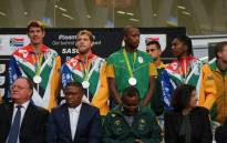 Team SA arrives home from the 2016 Rio Olympics. Picture: Christa Eybers/EWN.