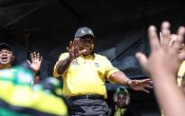 ANC president Cyril Ramaphosa pictured during a door-to-door campaign for the ruling party, the ANC, in Polokwane, Limpopo, on 16 April 2019. Picture: Abigail Javier/EWN.