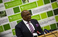 Health Minister Aaron Motsoaledi briefs the media on listeriosis and counterfeit food on 3 September 2018. Picture: Kayleen Morgan/EWN