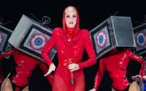 Singer-songwriter Katy Perry performs live in concert on her 'Witness' The Tour event held at the AT&T Center on 10 January 2018 in San Antonio, Texas. Picture: AFP.