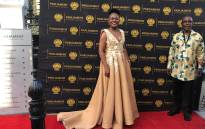 Public Protector Busisiwe Mkhwebane on the Sona 2019 red carpet. Picture: Bertram Malgas/EWN