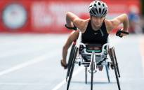 US Paralympic Track and Field athlete, Chelsea McClammer. Picture: @USParaTF/Twitter.