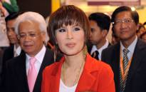 FILE: Thailand's Princess Ubolratana Rajakanya (C) visits the Thailand pavilion at the Hong Kong Entertainment Expo on 24 March 2010. Picture: AFP