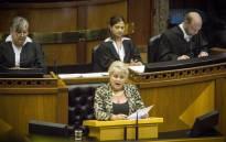 FILE: Dianne Kohler Barnard in Parliament. Picture: Thomas Holder/EWN.