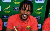 Springbok Sevens player Selvyn Davids. Picture: @Blitzboks/Twitter