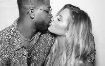 Khloé Kardashian and Tristan Thompson. Picture: @khloekardashian/Instagram