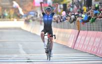 NTT Pro Cycling's Ben O'Connor wins stage 17 of the Giro d'Italia on 21 October 2020. Picture: @giroditalia/Twitter