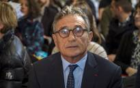 In this file photo taken on 14 February 2019, former French rugby union national team coach, Guy Noves, waits for the start of a hearing at the Conseil de Prud'hommes (conciliation tribunal) in Toulouse. Picture: AFP