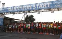 FILE: Runners at the starting line of the 2018 Sanlam Cape Town Marathon. Picture: EWN