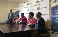 Gauteng Education MEC Panyaza Lesufi briefs the media on 17 January 2020 on the death of Parktown Boys' High learner Enoch Mpianzi while attending a school camp. Picture: Kgomotso Modise/EWN