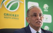 Cricket South Africa Chief Executive Haroon Lorgat addresses journalists in Cape Town on 8 August 2016. Picture: Aletta Harrison/EWN.