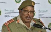 South African National Defence Force chief General Solly Shoke. Picture: @SANDFCorpEvents/Twitter.