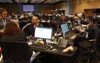 A general view of the IEC results centre in Cape Town. Picture: Bertram Malgas/EWN.