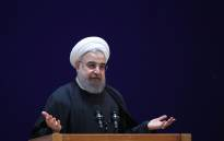A handout picture provided by the office of Iranian President Hassan Rouhani shows him speaking at a conference in the capital Tehran. Picture: AFP
