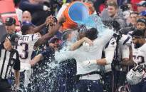 New England Patriots players give head coach Bill Belichick a Gatorade shower after winning the Super Bowl LIII at Mercedes-Benz Stadium on 3 February 2019 in Atlanta, Georgia. Picture: AFP