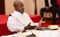 Ugandan President Yoweri Museveni. Picture: @KagutaMuseveni/Twitter