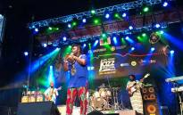 Ndaka Yo Wiñi performs on stage at the free concert in Greenmarket Square in Cape Town on 27 March 2019. The concert is a pre-cursor to Cape Town International Jazz Festival. Picture: Kaylynn Palm/EWN