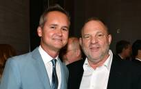 Roy Price and Harvey Weinstein in New York City in June 2017. Picture: AFP.