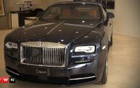 After the launch of the Rolls- Royce Ghost 2, comes the Dawn. The Dawn's alluring presence is unmistakable, right from the very first encounter and EWN takes a look.Picture : Kgothatso Mogale/EWN