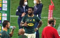 Springbok captain and flanker Siya Kolisi at the end of the second rugby union Test match between South Africa and the British and Irish Lions at The Cape Town Stadium in Cape Town on 31 July 2021. Picture: Rodger Bosch/AFP